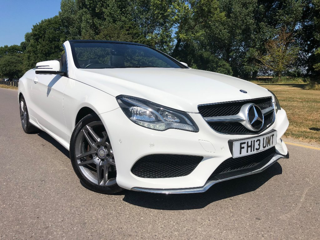 MERCEDES-BENZ E CLASS Convertible 2.1 E220 TD CDI AMG Sport Cabriolet 7G-Tronic Plus 2dr