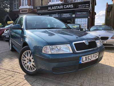 SKODA OCTAVIA Hatchback 1.6 Silverline Limited Edition 5dr