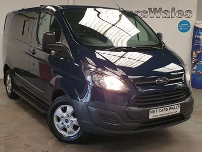 FORD TRANSIT CUSTOM Panel Van 2.2 TDCi 125bhp 270 Crew Windows Diesel