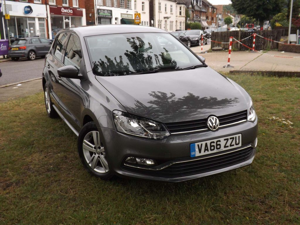 VOLKSWAGEN POLO Hatchback 1.2 TSI BlueMotion Tech Match DSG (s/s) 5dr