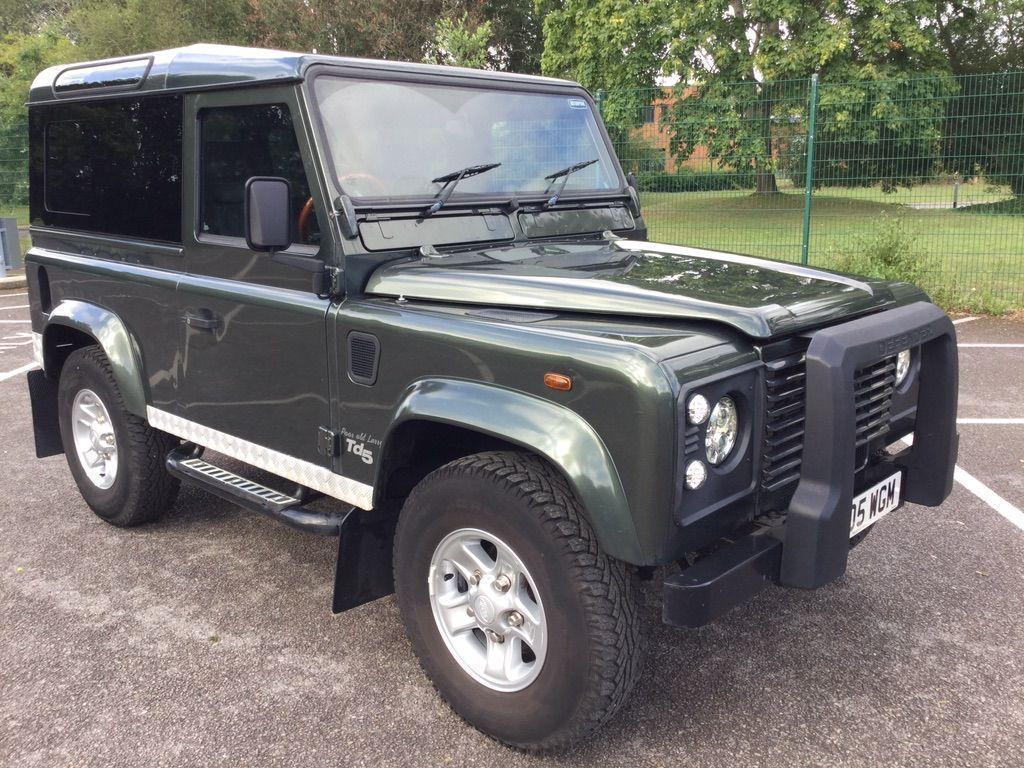Used Land Rover Defender 90 Suv 2 5 Td5 County Hard Top 3dr