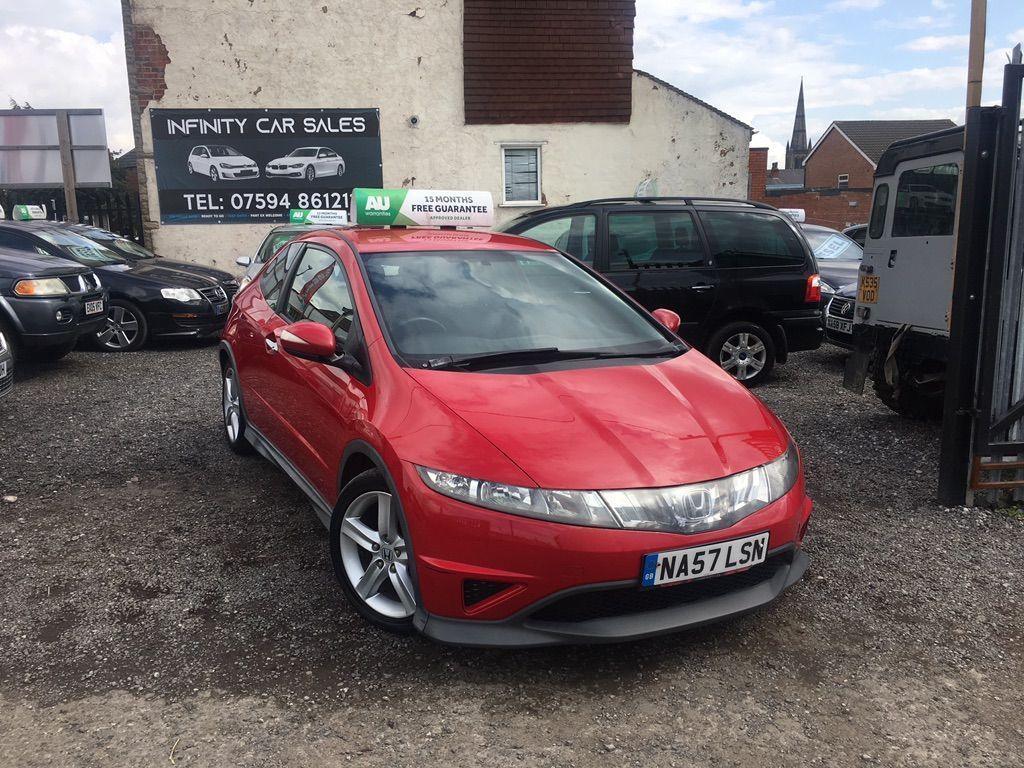HONDA CIVIC Hatchback 2.2 i-CTDi Type S 3dr