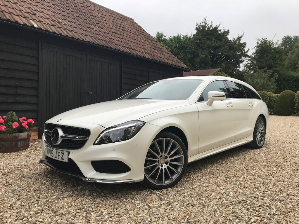 MERCEDES-BENZ CLS Estate 2.1 CLS220 CDI BlueTEC AMG Line (Premium Plus) Shooting Brake 7G-Tronic Plus 5dr