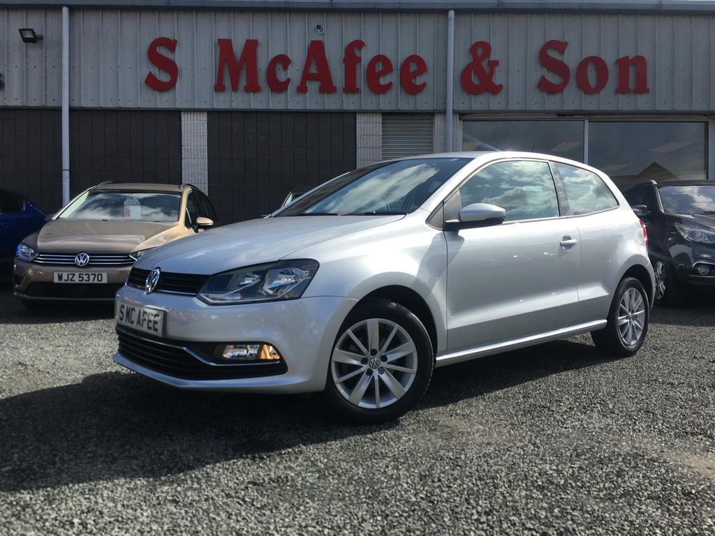 VOLKSWAGEN POLO Hatchback 1.0 TSI BlueMotion Tech SE (s/s) 3dr