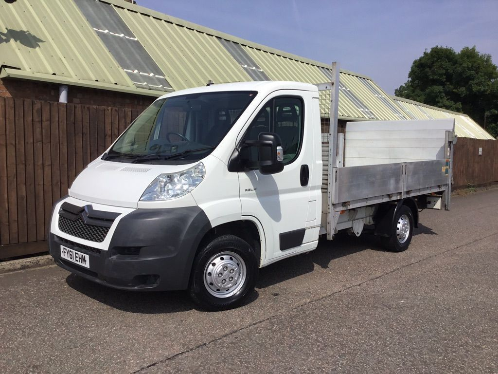 CITROEN RELAY Chassis Cab 2.2 HDi 35 L3 Dropside Truck 2dr