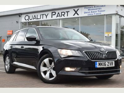 SKODA SUPERB Estate 1.6 TDI SE Business DSG (s/s) 5dr