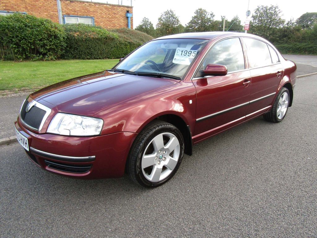 SKODA SUPERB Saloon 1.9 TDI PD Elegance 4dr