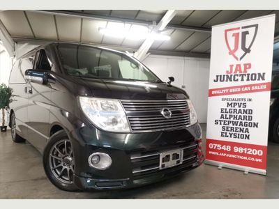 NISSAN ELGRAND MPV E51 HWS BLACK LEATHER EDITION + 360 VIEW