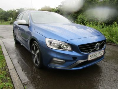 VOLVO V60 Estate 2.0 D4 R-Design Nav (s/s) 5dr