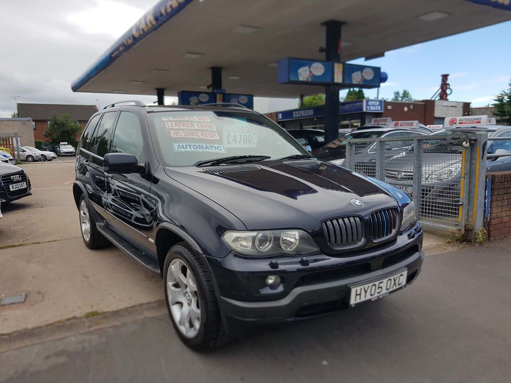 BMW X5 SUV 4.8 is Exclusive 5dr