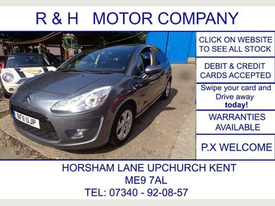 CITROEN C3 Hatchback 1.6 VTi 16v Exclusive 5dr