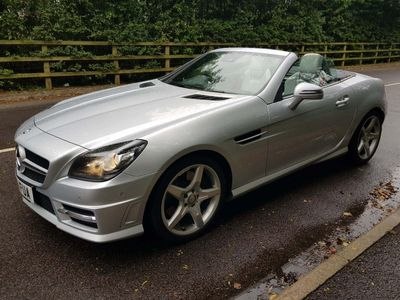 MERCEDES-BENZ SLK Convertible 1.8 SLK200 BlueEFFICIENCY AMG Sport Edition 125 7G-Tronic Plus 2dr
