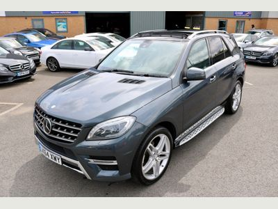MERCEDES-BENZ M CLASS SUV 3.0 ML350 CDI BlueTEC AMG Line (Premium) 7G-Tronic Plus 4MATIC 5dr