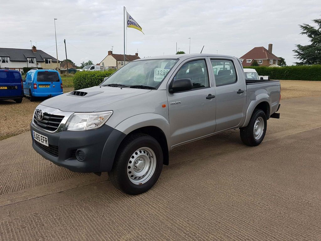 Used Toyota Hilux Pickup 2 5 D-4d Active Double Cab Pickup