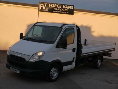 IVECO DAILY Chassis Cab AUTOMATIC AUTO ALLOY DROP SIDE FLAT BED