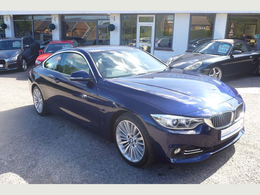 BMW 4 SERIES Coupe 2.0 420i Luxury 2dr