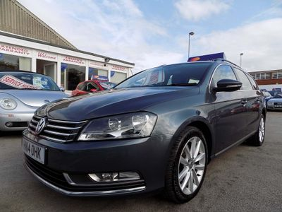 VOLKSWAGEN PASSAT Estate 2.0 TDI BlueMotion Tech Executive DSG (s/s) 5dr
