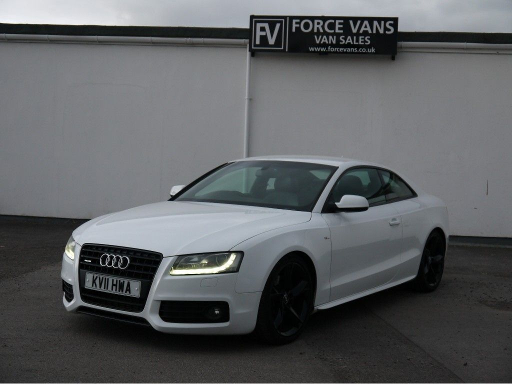 AUDI A5 Coupe AUDI A5 3.0 TRONIC SLINE QUATTRO S Line LIMITED BLACK EDITION COUPE SPORTS WHITE
