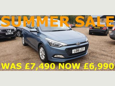 HYUNDAI I20 Hatchback 1.2 GO! Manual 5dr