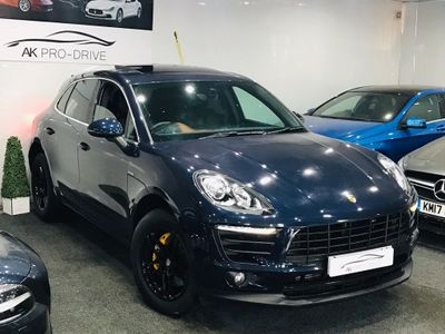 PORSCHE MACAN SUV 3.0 TD V6 S PDK 4WD (s/s) 5dr