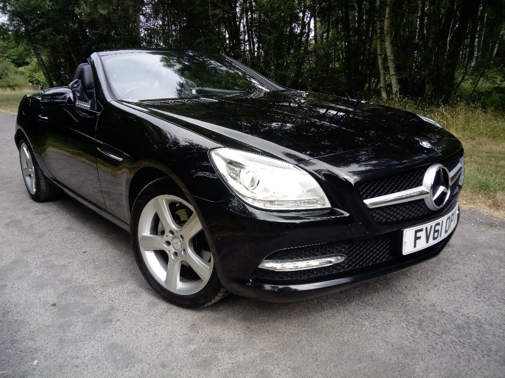 MERCEDES-BENZ SLK Convertible 1.8 SLK200 BlueEFFICIENCY Edition 125 7G-Tronic Plus 2dr