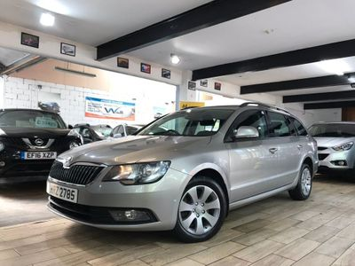 SKODA SUPERB Estate 2.0 TDI CR DPF S DSG 5dr