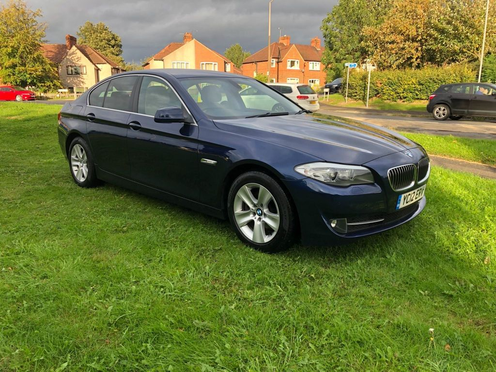 BMW 5 SERIES Saloon 2.0 520d EfficientDynamics BluePerformance 4dr