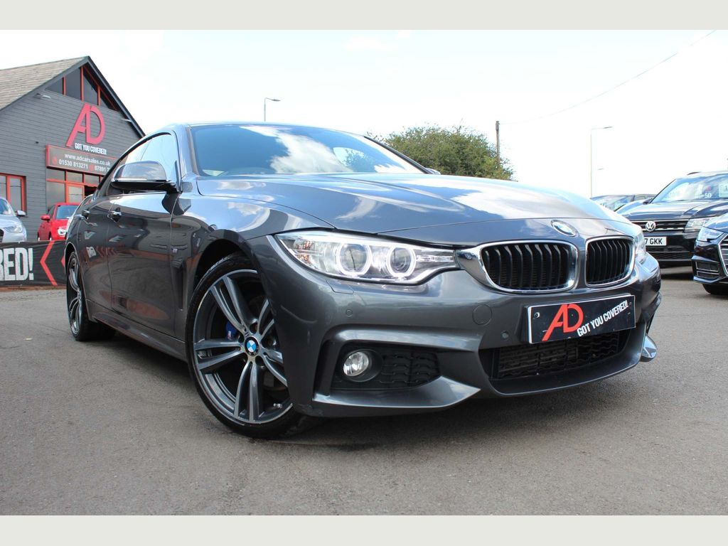 BMW 4 SERIES GRAN COUPE Coupe 2.0 420d M Sport Gran Coupe (s/s) 5dr