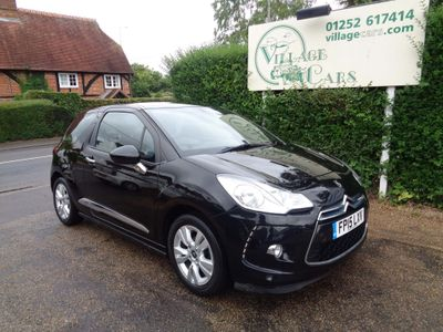 CITROEN DS3 Hatchback 1.2 PureTech DSign Plus 3dr