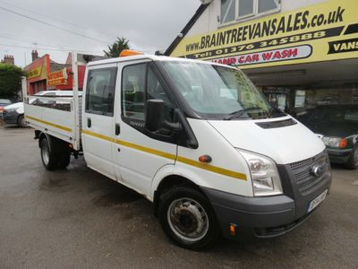 FORD TRANSIT Dropside 2.2 TDCi 350 L Double Cab Dropside Truck RWD 4dr (EU5, Extended Frame, LWB)