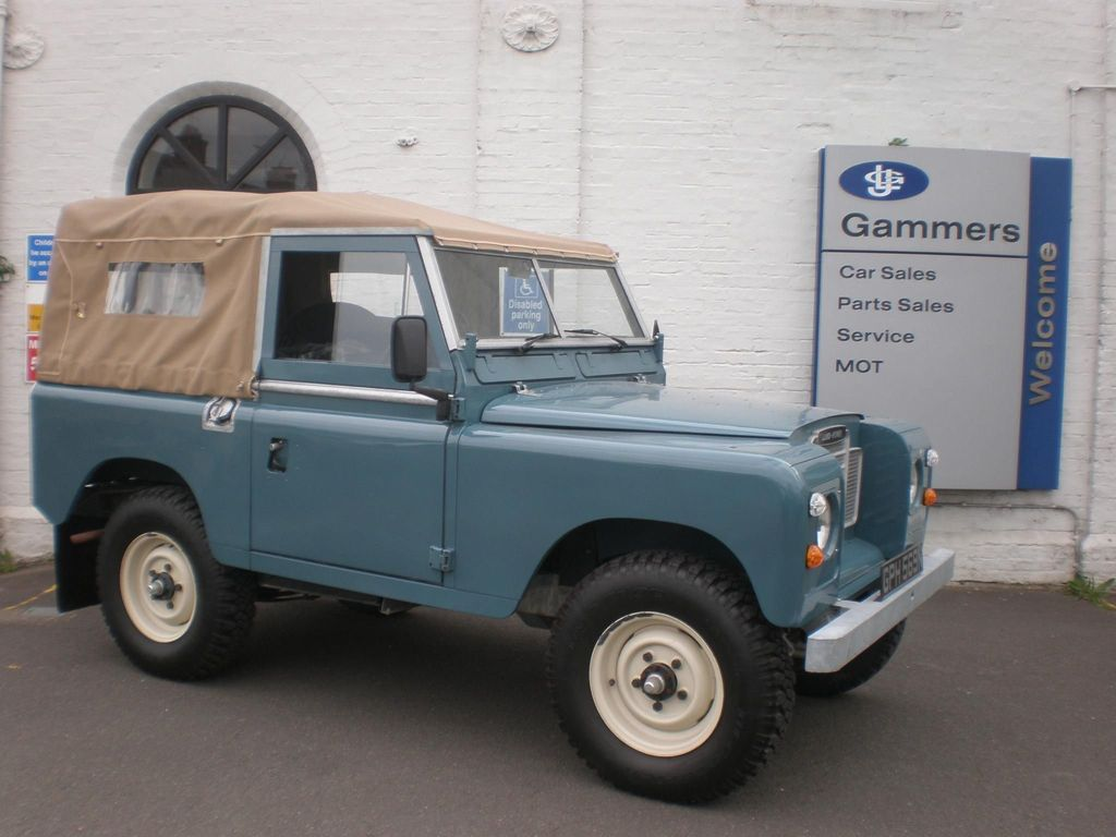LAND ROVER SERIES III SUV 2.3 88 Soft Top