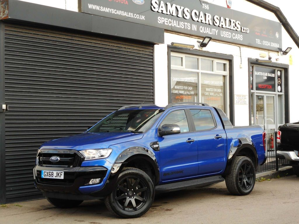 FORD RANGER Pickup 3.2 TDCi Wildtrak X Double Cab Pickup Auto 4x4 4dr
