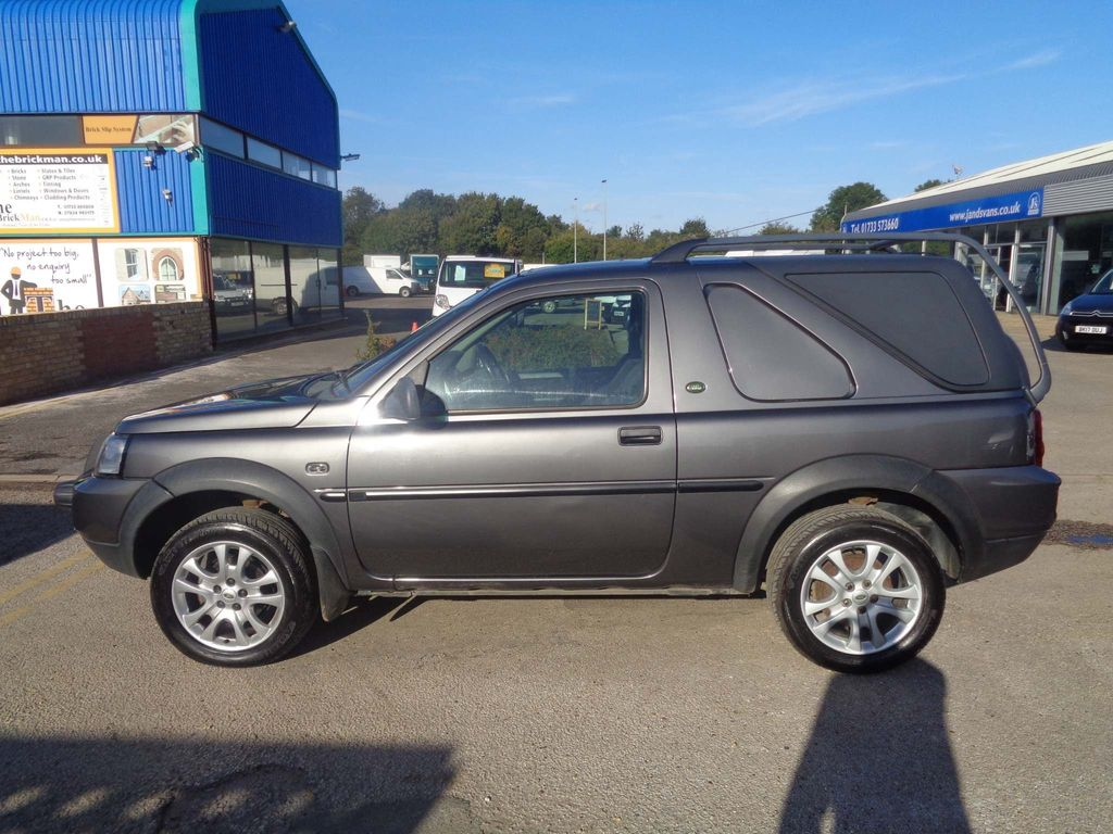 LAND ROVER FREELANDER SUV 2.0 TD4 3DR COMMERCIAL