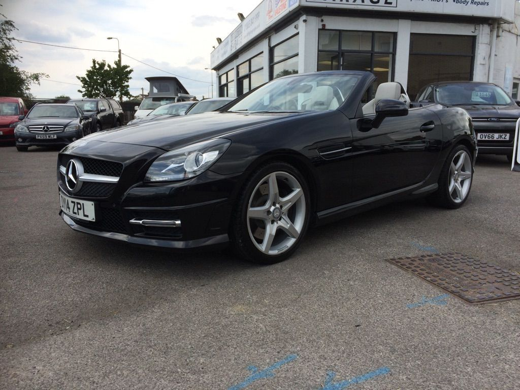 MERCEDES-BENZ SLK Convertible 2.1 SLK250 CDI BlueEFFICIENCY AMG Sport 7G-Tronic Plus (s/s) 2dr