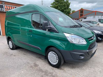 FORD TRANSIT CUSTOM Panel Van 2.2 TDCi 330 L1H1 Trend Panel Van 5dr