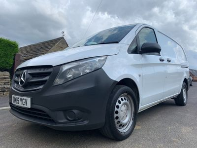 MERCEDES-BENZ VITO Other 2.1 114CDI BlueTEC Extra Long Panel Van 6dr