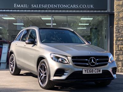 MERCEDES-BENZ GLC CLASS SUV 2.1 GLC220d AMG Night Edition G-Tronic+ 4MATIC (s/s) 5dr