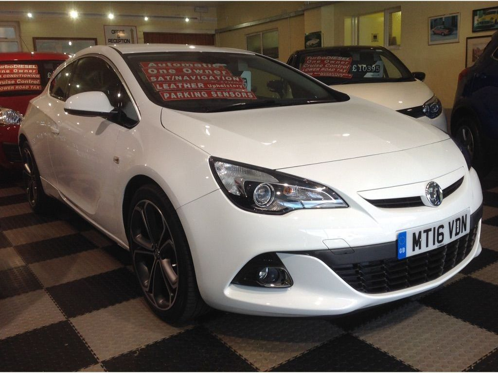 VAUXHALL ASTRA GTC Coupe 1.4i Turbo Limited Edition Auto 3dr