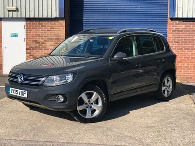 VOLKSWAGEN TIGUAN SUV 2.0 TDI BlueMotion Tech Escape DSG 4MOTION (s/s) 5dr