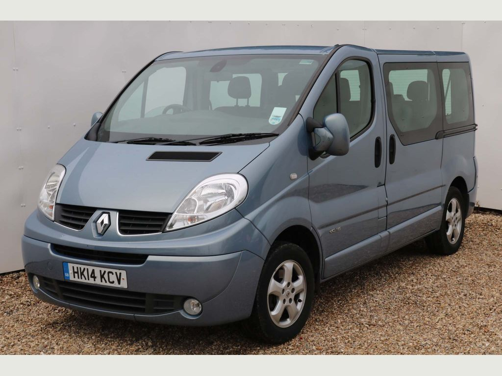 RENAULT TRAFIC Other 2.0 dCi SL27 Sport Phase 3 Mini Bus 4dr (9 Seats, EU5)