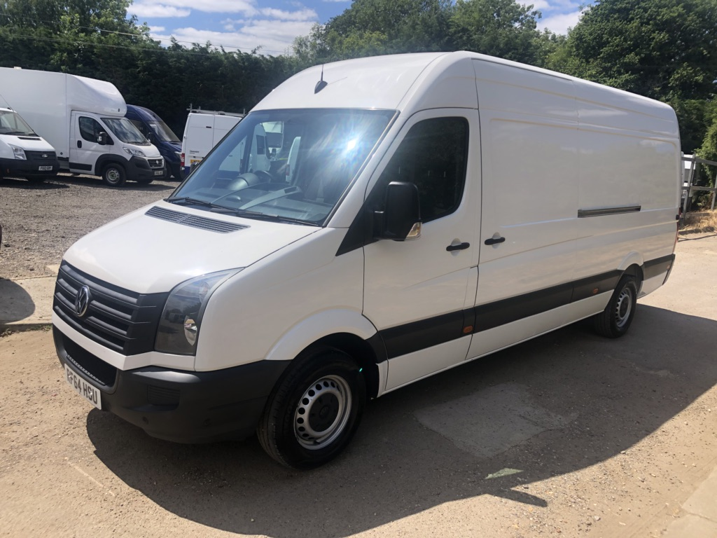 VOLKSWAGEN CRAFTER Panel Van 2.0 TDI CR35 LWB HIGH ROOF 136BHP