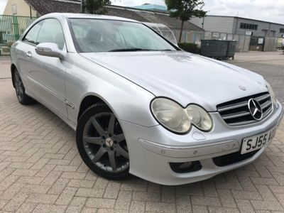MERCEDES-BENZ CLK Coupe 1.8 CLK200 Kompressor Avantgarde 2dr