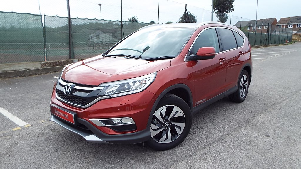 HONDA CR-V SUV 2.0 i-VTEC EX (DASP) 4x4 5dr (Honda Connect with Navi)