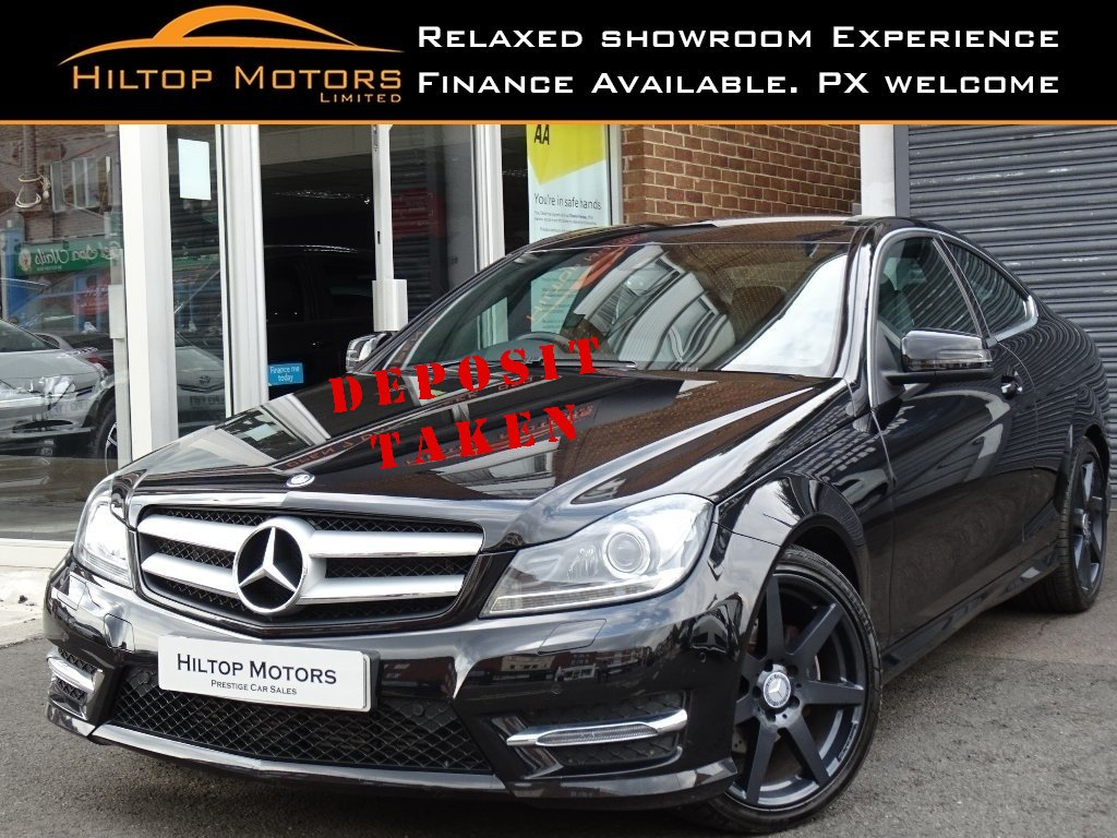 MERCEDES-BENZ C CLASS Coupe 1.6 C180 BlueEFFICIENCY AMG Sport Sport Coupe 7G-Tronic Plus 2dr