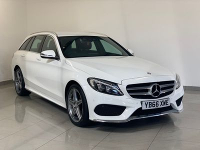 MERCEDES-BENZ C CLASS Estate 2.1 C220d AMG Line G-Tronic+ 4MATIC (s/s) 5dr