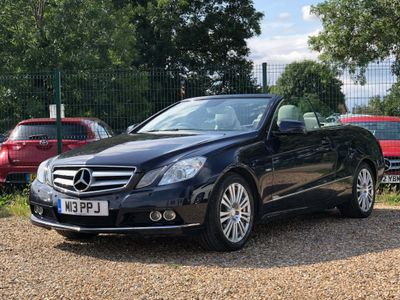 MERCEDES-BENZ E CLASS Convertible 1.8 E250 CGI BlueEFFICIENCY SE Cabriolet 2dr