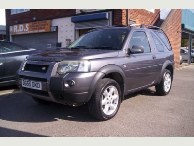 LAND ROVER FREELANDER Convertible 2.0 TD HSE Soft Top 3dr