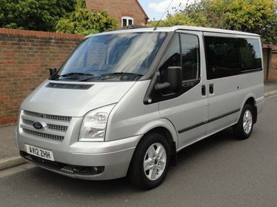 FORD TRANSIT Minibus 2.2 TDCi 280 S Tourneo Limited Low Roof Bus 5dr (8 Seats)