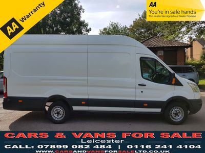 FORD TRANSIT Panel Van 2.2 TDCi 350 L4H3 HD Panel Van RWD RWD 5dr