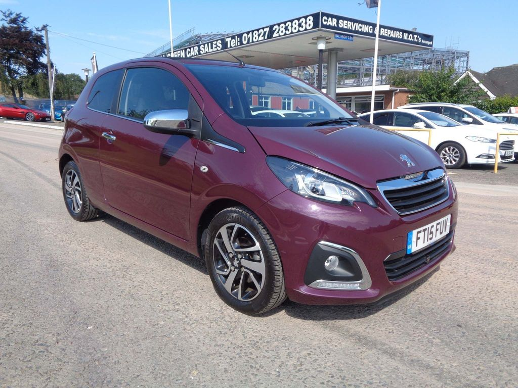 PEUGEOT 108 Convertible 1.2 PureTech Allure Top! 3dr